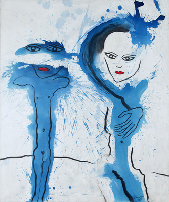 'Begegnung in Blau', 2013
