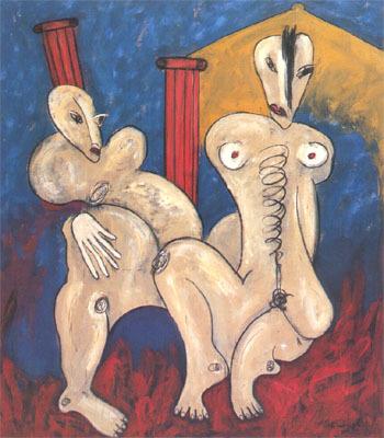 'RÖmisches Paar', 1985