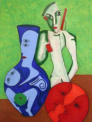 'Im Atelier', 2002