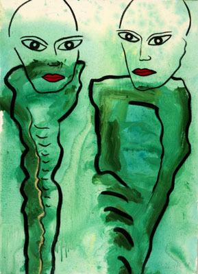 'Blickwechsel', 2008
