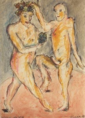 'Dionysos und Satyr', 1983